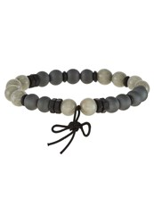 Icon Brand Molasses Bracelet Charcoal Dark Grey
