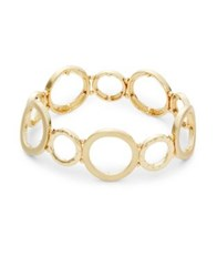 Design Lab Lord And Taylor Multi Circle Bracelet Gold