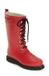 Women's Ilse Jacobsen Hornb K Rubber Boot Deep Red