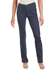 Lafayette 148 New York Reptile Five Pocket Skinny Pants Bateau Blue
