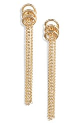 Argentovivo Argento Vivo Rope Drop Earrings Gold