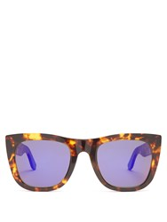 Retrosuperfuture Gals Acetate Sunglasses Tortoiseshell