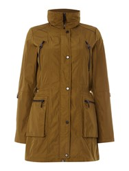 Andrew Marc New York Veronica Parka Coat With Hood Green