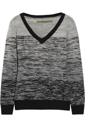 Enza Costa Wool And Cashmere Blend Sweater