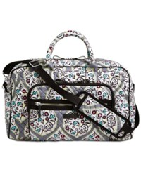 Vera Bradley Iconic Compact Extra Large Weekender Travel Bag Heritage Leaf