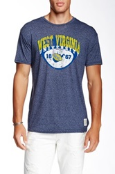 Original Retro Brand West Virginia University Tee Blue
