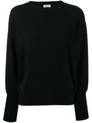 Brunello Cucinelli Crew Neck Jumper Black