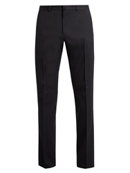 Acne Studios Boden Slim Leg Trousers Navy