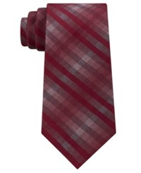 Kenneth Cole Reaction Men's Grid Tie Red