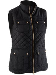 Abacus Holmen Quilted Gilet Black