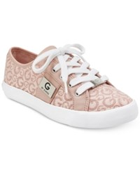 G By Guess Backer Lace Up Sneakers Women's Shoes Light Pink