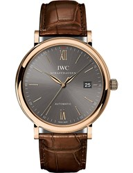 Iwc Iw356511 Portofino Automatic Engraved Watch