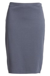 Leith Pencil Skirt Grey Grisaille