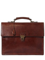 The Bridge Leather Briefcase