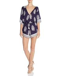 Faithfull The Brand Striped Yacht Romper Devani Pri