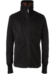 Isaac Sellam Experience Short Leather Coat Black