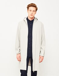 Rains Base Jacket Long Stone