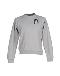Peter Jensen Topwear Sweatshirts Men Light Grey