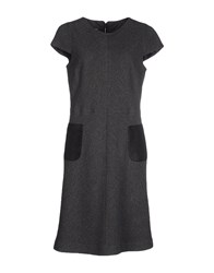 Caramelo Dresses Knee Length Dresses Women Grey