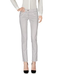 Alysi Casual Pants Light Grey