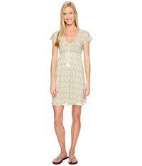 Carve Designs Vero Dress Butter Lagoon Women's Dress White