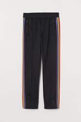 Handm H M Sports Pants With Side Stripes Black