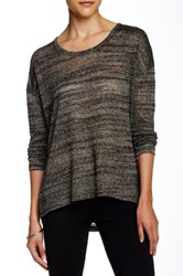 Kut From The Kloth Nevaeh Open Knit Scoop Sweater Green