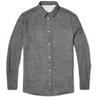 Norse Projects Aaron Worsted Gauze Shirt Mouse Grey