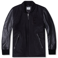 Edwin Baseball Jacket Black