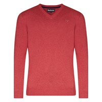 Barbour Pima V Neck Jumper Candy