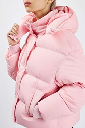 Boutique The Puffball Puffer Jacket By Pink