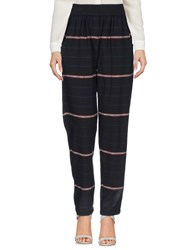 Local Apparel Trousers Casual Trousers Black