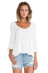 Lovers Friends Starlette Blouse Ivory