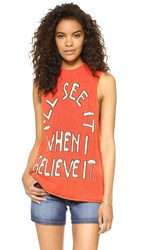 Wildfox Couture Believe It Shanie Tunic Ariel Red