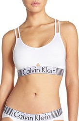 Women's Calvin Klein 'Iron Strength' Bralette White