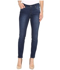 Liverpool Petite Abby Skinny Jeans In Manchester Wash Indigo Manchester Wash Indigo Women's Jeans Blue