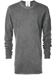 Lost And Found Rooms Long Sleeved T Shirt Grey