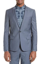 The Kooples Men's After Rain Wool One Button Jacket