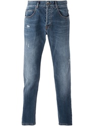 Eleventy Tapered Jeans Blue
