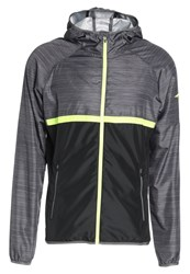 Mizuno Sports Jacket Black Castlerock