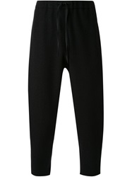 Aganovich Low Crotch Trousers Black