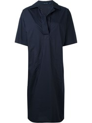 Sofie D'hoore Collared Shift Dress Blue