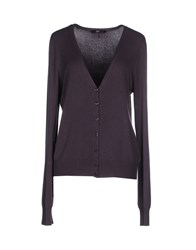 Ajay Knitwear Cardigans Women Purple
