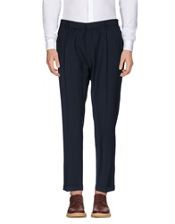 The Editor Trousers Casual Trousers Dark Blue