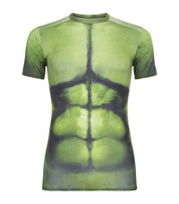 Under Armour Underarmour Avengers Compression Top Male Green