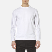 Garbstore Men's Long Sleeve T Shirt White