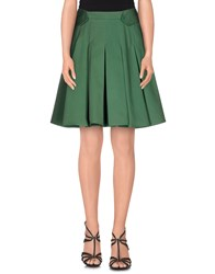 Boy By Band Of Outsiders Skirts Knee Length Skirts Women Green