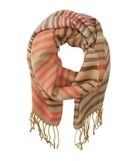 Roxy Warm Heart Woven Jacquard Scarf Lark Scarves Gold
