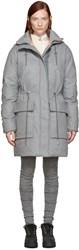 Acne Studios Grey Wool Alston Parka