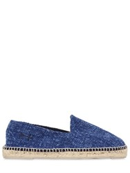Manebi Cotton Denim Espadrilles